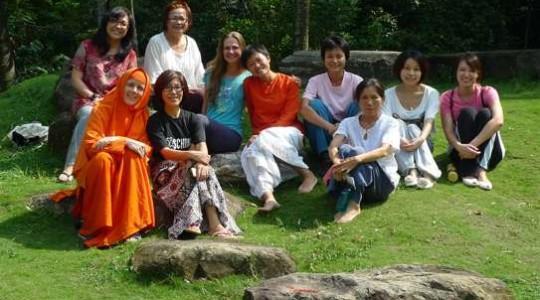 週末女性瑜伽體驗營